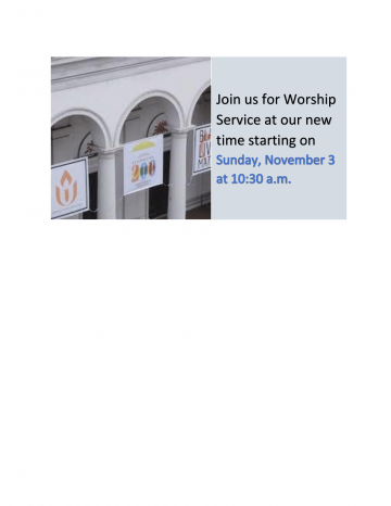 Home First Unitarian Church Of Baltimore